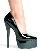 "6.5"" Stiletto Heel Pump."